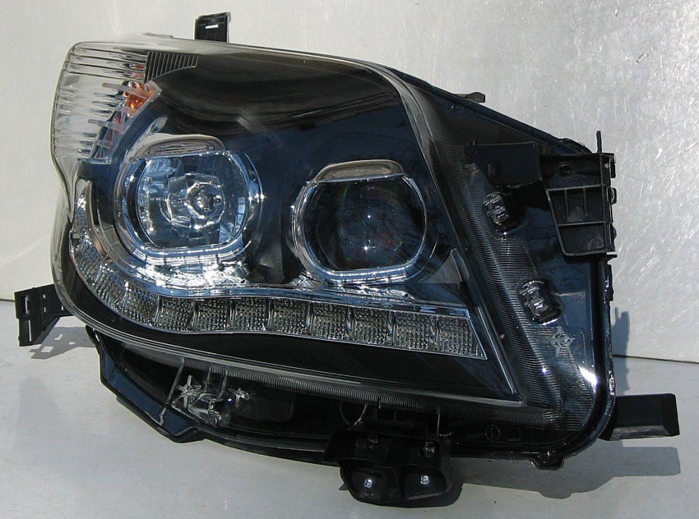 Передние Toyota Prado 150 альтернативная тюнинг оптика фары тюнинг-опт