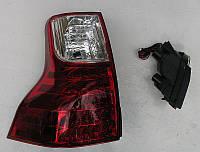 Toyota Prado 150 оптика задняя красная