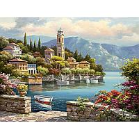 Живопись Романтическая гавань 40*50, рисование по номерам, раскраска