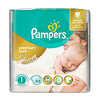 "Подгузники ""Pampers Premium Care""1 (2-5 кг)-88 шт"