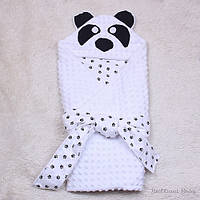 """Конверт-одеяло на выписку """"Панда"""""""