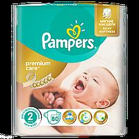 "Подгузники ""Pampers Premium Care""2 (3-6 кг)-80 шт"