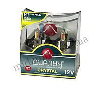Лампа головного света H1 DUO 12V 55W P14,5S Crystal (комплект 2 шт.)