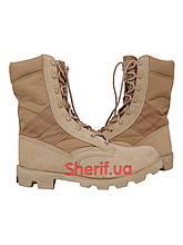 Берцы ботинки летние пустынные США MIL-TEC Speed Lace Khaki 12823000