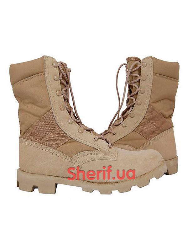 Берцы ботинки летние пустынные США MIL-TEC Speed Lace Khaki 12823000  41 - Военторг Шериф в Днепре
