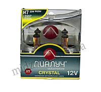 Лампа головного света H7 DUO 12V 55W PX26D Crystal (комплект 2 шт.)