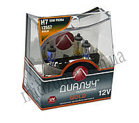 Лампа головного света H7 DUO 12V 55W PX26D Gold (комплект 2 шт.)