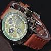 Часы мужские наручные AMST Biden+фирменная коробка в подарок brown-green, фото 4