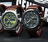 Часы мужские наручные AMST Biden+фирменная коробка в подарок brown-green, фото 7