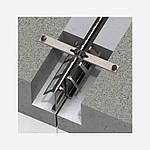Профиль деформационного шва ремонтный Бета ПДШ Rβ-160, фото 2