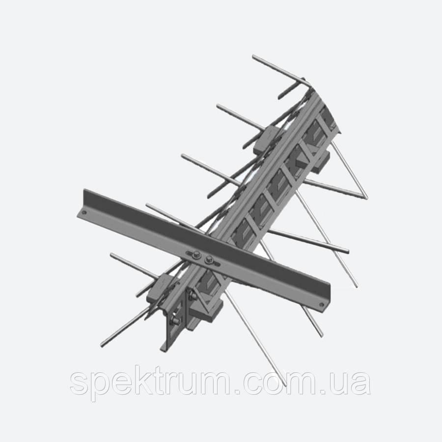 Профиль деформационного шва ремонтный Бета ПДШ Rβ-110