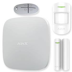 Комплект беспроводной gsm сигнализации Ajax StarterKit white