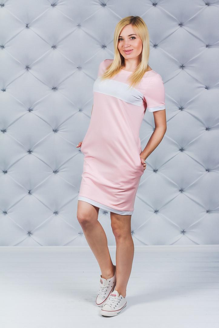Платье  летнее  персик