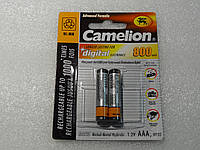 Аккумулятор Camelion ААA 800 mAh Ni-Mh Качество!