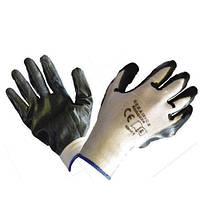 Перчатки нейлон+нитрил PBAU M-8