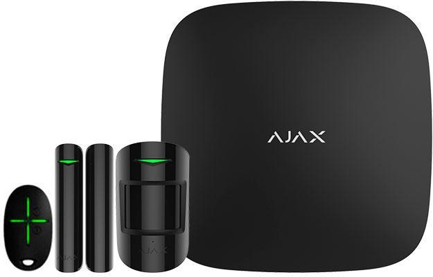 Комплект беспроводной gsm сигнализации Ajax StarterKit black