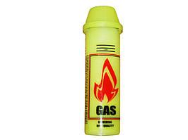 Газ для зажигалок  Желтый флакон + насадки/100 шт в ящ/