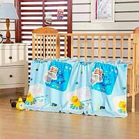 Детское одеяло-покрывало двойное 110х150