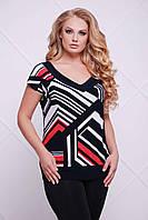 Женская блуза большого размера  ДАЛИЯ ТМ Таtiana 58  размер