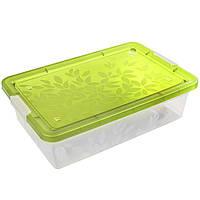 Ящик для игрушек Жасмин на 26 литров на колесиках