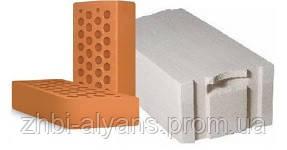 Кирпич М-75, М-100, М-125, 2НФ, газоблок, керамзитный блок, бетонный блок