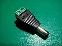 Разъем для подключения питания M (D 5.5 x 2.1 мм) с клеммной колодкой DC 12 В, фото 1