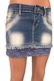 Джинсовая юбка JP 177 Blue 3062, фото 2
