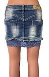Джинсовая юбка JP 177 Blue 3062, фото 3