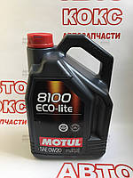 Масло моторное синтетическое Motul 8100 Eco-lite 5л