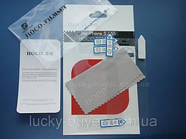Защитная пленка матовая HOCO для iPhone 5 двухсторонняя