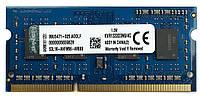 DDR3 4Gb 1333Мгц 1.5v для ноутбуков INTEL и AMD SoDIMM ДДР3 4Гб 1600MHz PC3 -10600 универсал.KVR1333D3N9/4G