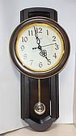 Настенные часы с маятником RIKON 4551 brown