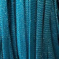 Шнур плоский чехол ПЭ 8мм люрекс морволна (100 метров)