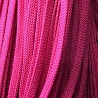 Шнур плоский чехол ПЭ 8мм розовый (100 метров)