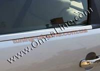 Нижние молдинги стекол Omsa на BMW X5 E53 1999-2006