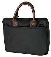 """Сумка для ноутбука элит 13.3"""" HQ-Tech EE-13501S, женская, черная, Damask Nylon"""