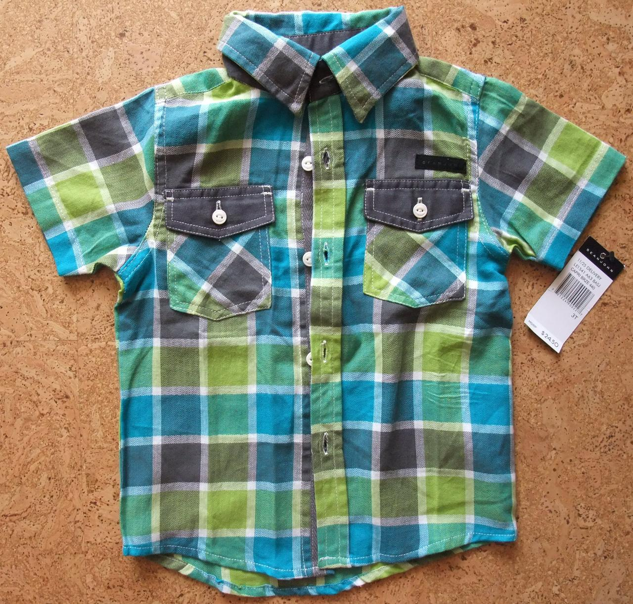Рубашка детская для мальчика Seanjohn, размер 3Т
