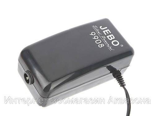 Jebo Компрессор для аквариума Sonic 9908, 480 л/ч - Интернет-зоомагазин Аквазона в Харькове