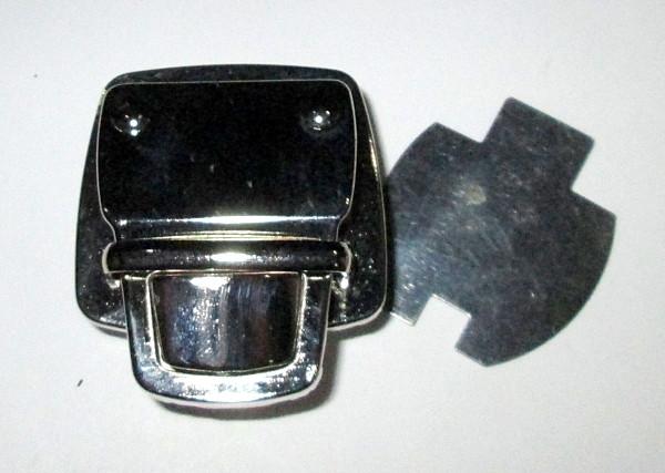Застежка - Пряжка для сумки, серебро