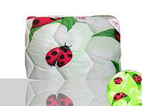Одеяло силиконовое детское (зеленое)