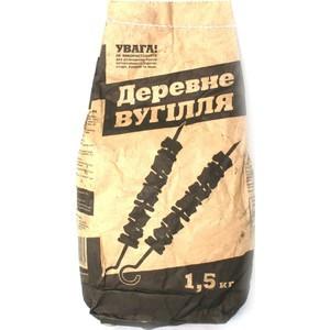 Уголь древесный 1,5 кг