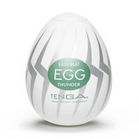Мастурбатор Tenga Egg Thunder (Молния), фото 1