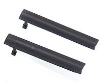 Комплект боковых заглушек для Sony Xperia Z3 Compact D5803 | D5833 | M55w (черный цвет)