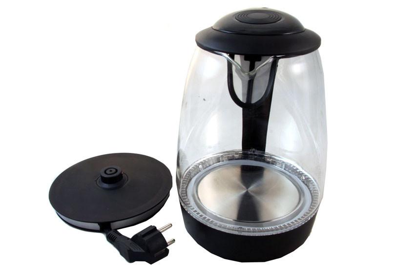 Электрический чайник CRYSTAL CR1720 Черный - www.gadget24.com.ua в Киеве