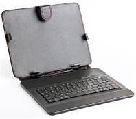 """Чехол для планшета 9,7"""" HQ-Tech LH-SKB0901U Black с microUSB клавиатурой"""