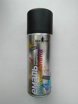 Черная матовая краска New ton, фото 2