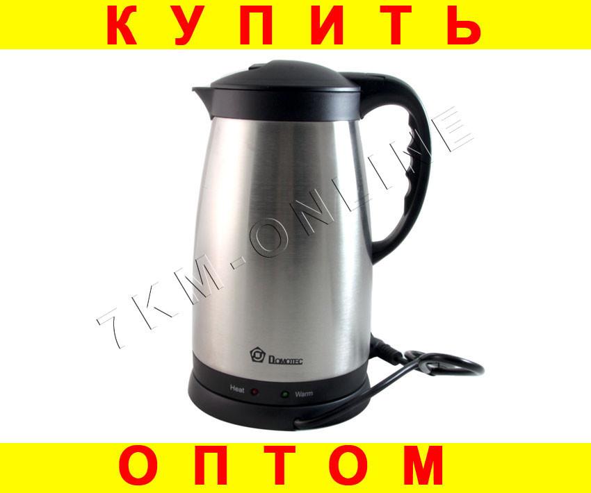 Дисковый электрочайник Domotec DT810