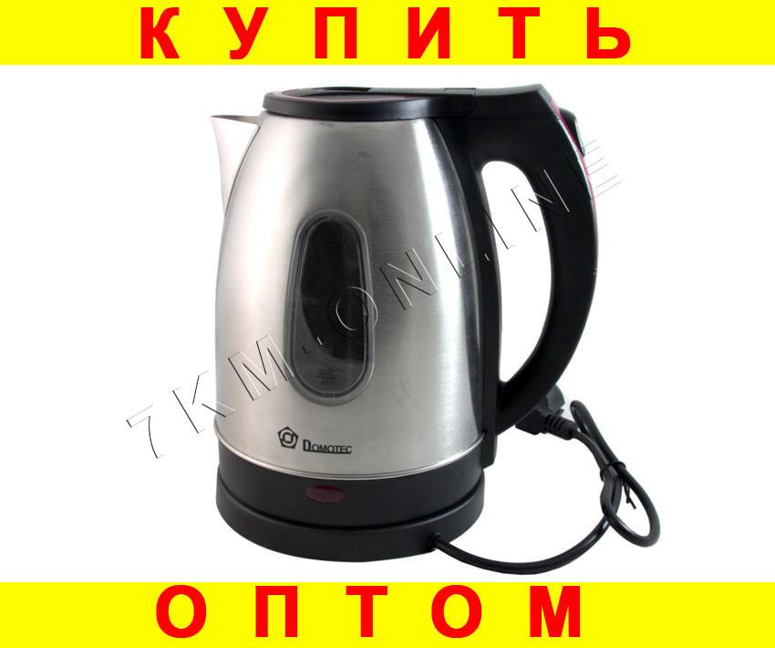 Дисковый электрочайник Domotec DT818