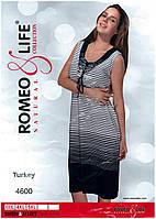 """Летнее платье больших размеров 3XL,4XL,5XL """"Romeo&Life""""  вискоза  Турция!!!"""