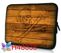 """Чехол для планшета гламур 7-8"""" HQ-Tech H48035 """"Веселый Роджер"""", неопреновый"""